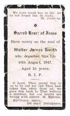 SMITH, Walter James RIP